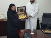 Welcome MR. Khalid Al-Omar, Chairman of Gulf Educational Foundation
